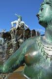 La fuente de Neptuno en Berlín Foto de archivo libre de regalías
