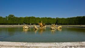La fuente del dragón, Versalles fotografía de archivo