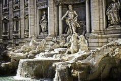La fuente del Trevi en Roma Fotografía de archivo libre de regalías