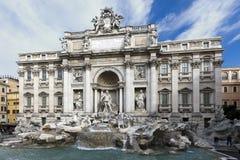 La fuente del Trevi en Roma, Italia Fotos de archivo libres de regalías