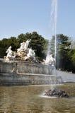 La fuente en el palacio de Schonbrunn, Viena, Austria imagen de archivo libre de regalías