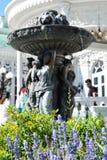 La fuente en el parque Fotografía de archivo