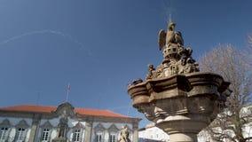 La fuente en Praca hace Municipio en Braga