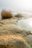 La fuente volcánica en el Rupite, Bulgaria imagenes de archivo
