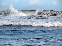 La fuerza del Océano Índico Imágenes de archivo libres de regalías