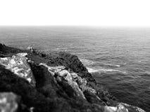 La fuerza natural del mar foto de archivo