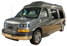 La furgoneta de lujo aisló Fotografía de archivo libre de regalías