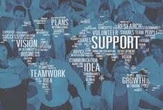 La future croissance d'idées de future expertise volontaire prévoit le concept images stock