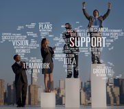 La future croissance d'idées de future expertise volontaire prévoit le concept photo libre de droits