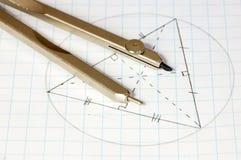 La géométrie Photographie stock