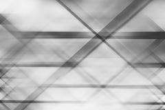 La géométrie abstraite de dièse de tache floue de mouvement photographie stock libre de droits