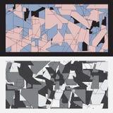 La géométrie abstraite de fond Image libre de droits