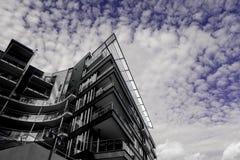 La géométrie architecturale Photo libre de droits