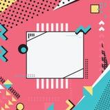 La géométrie colorée Images stock