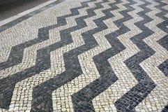 La géométrie de chaussée Images libres de droits