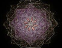 La géométrie de la série de l'espace Contexte visuellement attrayant illustration libre de droits