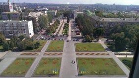 La géométrie de la ville Photos libres de droits
