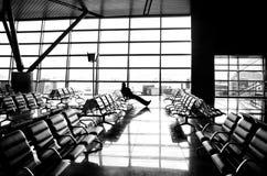 La géométrie de la solitude Image libre de droits