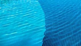 La géométrie de vacances - modèles géométriques dans la piscine Images libres de droits