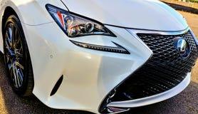 La géométrie des véhicules à moteur Photo libre de droits