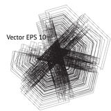 La géométrie sacrée de vecteur illustration stock