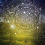 La géométrie sacrée Mathématiques, nature, et spiritualité en nature La formule de la nature Photographie stock libre de droits