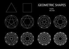 La géométrie sacrée Retrait illustration libre de droits