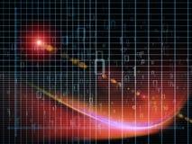 La géométrie virtuelle Images libres de droits