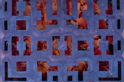 La gabbia dell'autunno fotografie stock libere da diritti