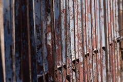 La gabbia della ruggine Immagine Stock