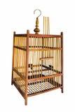 La gabbia di legno di ฺbird Fotografia Stock Libera da Diritti