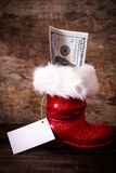 La gaine de Santa Photo stock