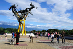 La Gaitana - Neiva. Colômbia Imagem de Stock