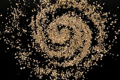 La galassia della foraminifera rara della spiaggia di Taketomi star la sabbia Fotografia Stock Libera da Diritti