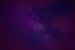 La galaxia de la vía láctea del espacio del universo con muchos protagoniza en la noche Imagen de archivo libre de regalías