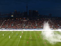 LA Galaxy at Toronto Royalty Free Stock Image