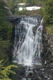La galena cade sul panettiere di Mt nel parco nazionale del nord delle cascate Immagine Stock Libera da Diritti