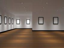 La galería grande stock de ilustración