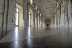 La galería o la Diana magnífica magnífica de Royal Palace de Venaria fotos de archivo