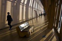 La galería de arte del edificio de Ontario Foto de archivo