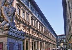 La galerie d'Uffizi à Florence Photographie stock