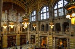 La galleria di arte di Kelvingrove ed il museo, Glasgow, Scozia fotografie stock libere da diritti