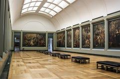 La galleria di Rubens fotografie stock libere da diritti
