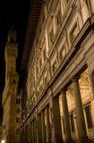 La galleria di Uffizi Fotografia Stock Libera da Diritti