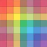 La gama de colores de colores Fotografía de archivo libre de regalías