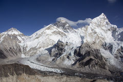 La gama de Himalaya fotografía de archivo