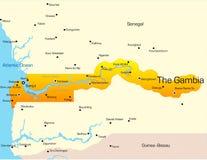 La Gambia Fotografia Stock Libera da Diritti