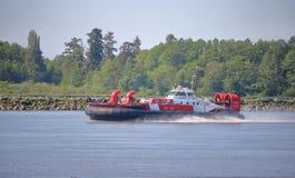 La garde côtière canadienne Responds pour affliger l'incident Photos stock