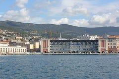 La garde côtière de Trieste Images stock