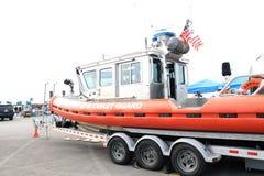 La garde côtière des USA Boat Images stock